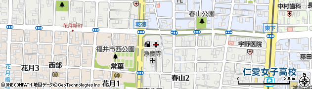 長堅寺周辺の地図