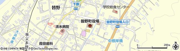 埼玉県秩父郡皆野町周辺の地図