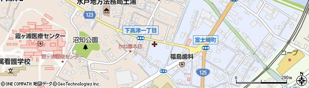 ホシザキ北関東株式会社 土浦営業所周辺の地図