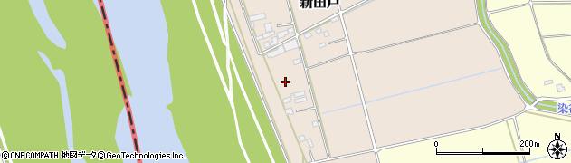 茨城県境町(猿島郡)新田戸周辺の地図