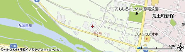 福井県勝山市荒土町松ケ崎周辺の地図