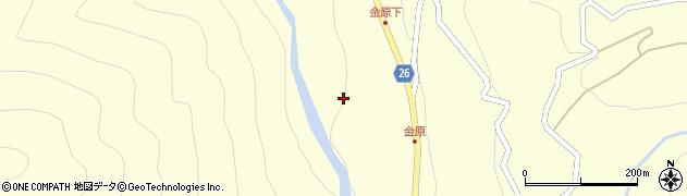 長野県松本市奈川(金原)周辺の地図