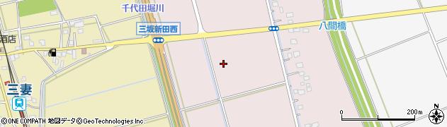 茨城県常総市三坂新田町周辺の地図