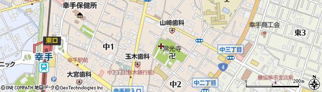担景寺周辺の地図