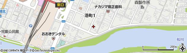 飯塚レジデンス周辺の地図