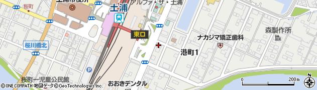 霞ヶ浦整体療院周辺の地図