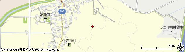 福井県福井市原目町周辺の地図