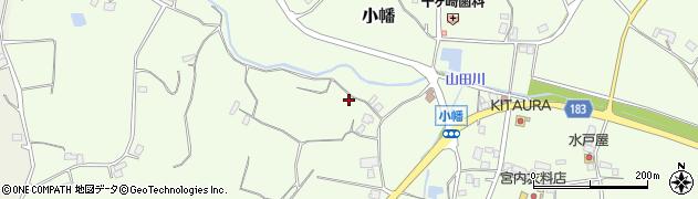 茨城県行方市小幡周辺の地図