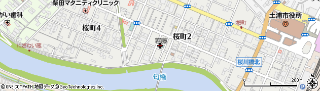ホテル若藤周辺の地図