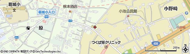 読売センター 筑波学園周辺の地図