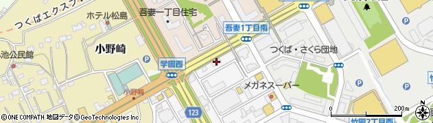 東洋証券株式会社 つくば支店周辺の地図