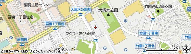 ミサワホーム株式会社周辺の地図