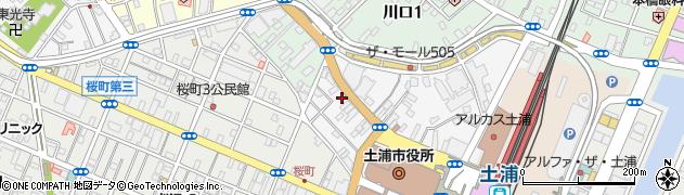 佐竹時計店周辺の地図