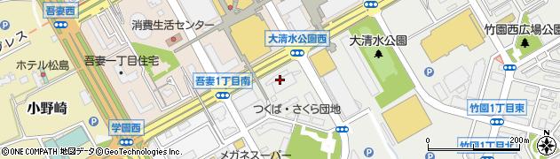 株式会社セノン 茨城支社周辺の地図