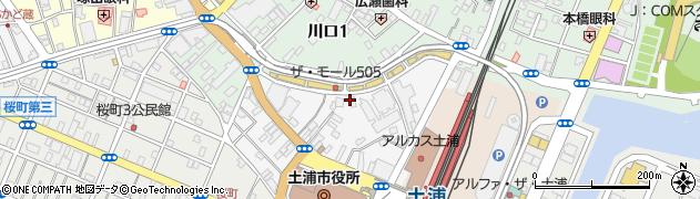 栗山駐車場周辺の地図