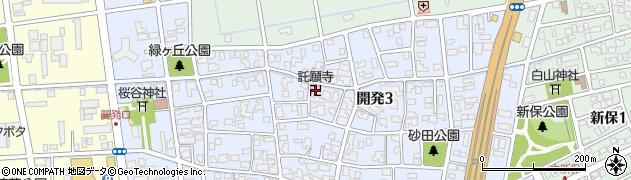 託願寺周辺の地図