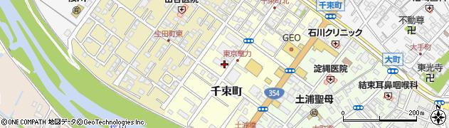 高梨武道具店周辺の地図