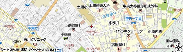飯島美光堂周辺の地図