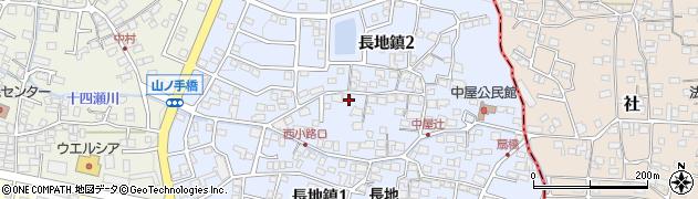 長野県岡谷市長地鎮周辺の地図