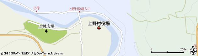 群馬県多野郡上野村周辺の地図