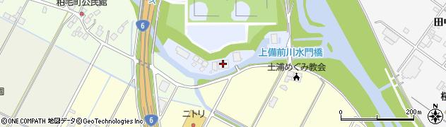 土浦市役所 衛生センター周辺の地図