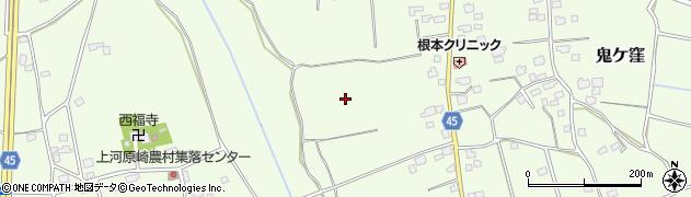 茨城県つくば市鬼ケ窪周辺の地図