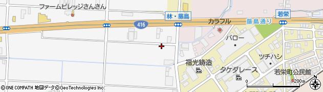 福井県福井市新保町周辺の地図
