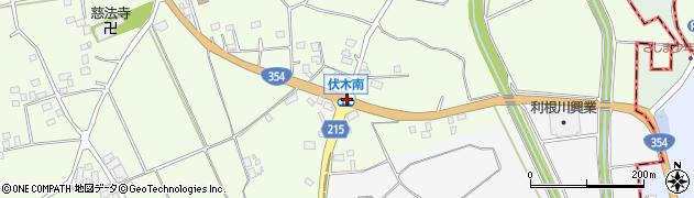 伏木南周辺の地図