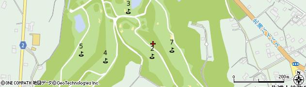 茨城県行方市山田周辺の地図