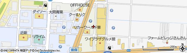 福井県福井市新保北周辺の地図
