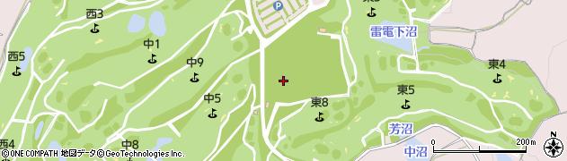 大雷神社周辺の地図