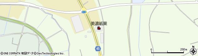 美濃紙業株式会社 つくば営業所周辺の地図