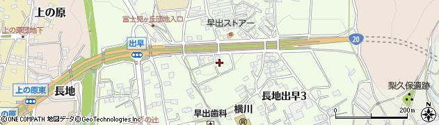 長野県岡谷市長地出早周辺の地図