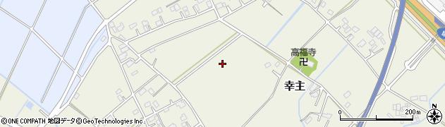 茨城県五霞町(猿島郡)幸主周辺の地図