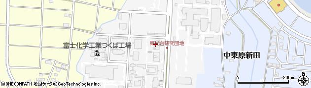 浜松ホトニクス株式会社 筑波研究所周辺の地図