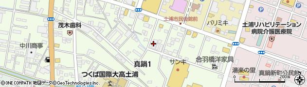 土浦青色申告会周辺の地図