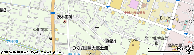 土浦ボーリング工業株式会社周辺の地図