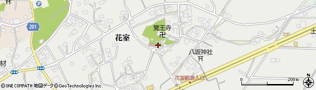 茨城県つくば市花室周辺の地図
