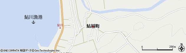 福井県福井市鮎川町周辺の地図