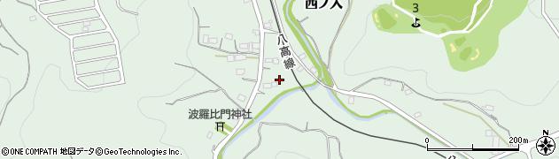 埼玉県大里郡寄居町西ノ入周辺の地図