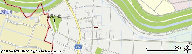 埼玉県熊谷市相上周辺の地図