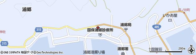 島根県西ノ島町(隠岐郡)周辺の地図