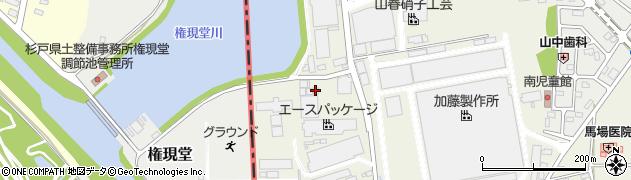 一心館道場周辺の地図