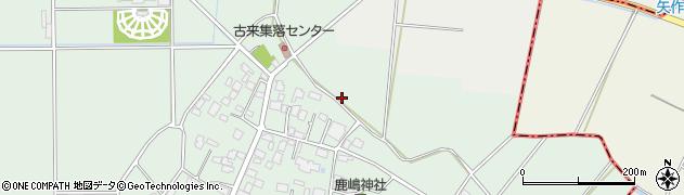茨城県つくば市古来周辺の地図
