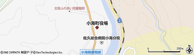 長野県小海町(南佐久郡)周辺の地図