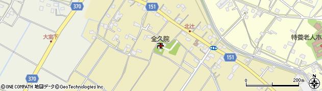 全久院周辺の地図