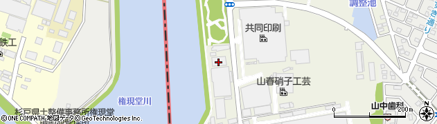 株式会社インターオフィス周辺の地図