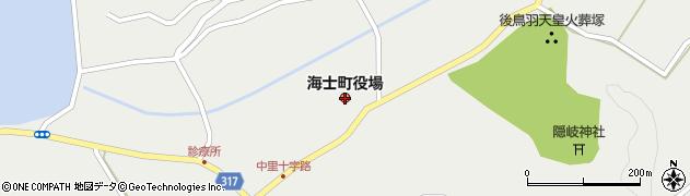 島根県海士町(隠岐郡)周辺の地図