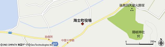 島根県隠岐郡海士町周辺の地図