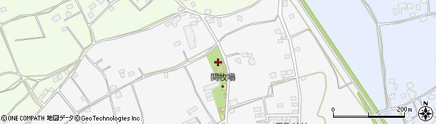 関牧場周辺の地図